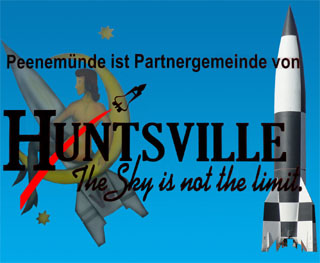 Technologietransfer: Huntsville (Alabama) ist Partnerstadt von Peenemünde.