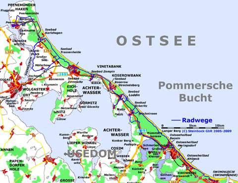 Radfahren Auf Der Insel Usedom Kustenradweg