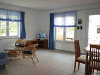 Baltic Sea Holiday Apartments Koelpinsee on the island Usedom. Kitchen in the Ground Floor.